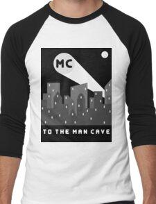 Man Cave 2 Men's Baseball ¾ T-Shirt