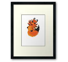 Cute little Foxy fox Framed Print
