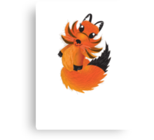 Cute little Foxy fox Canvas Print