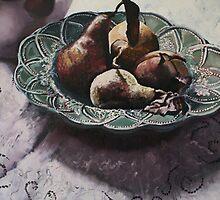 """Peared plate"" by Kobie Bosch"