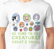 Be Kind to All Creatures 2 Unisex T-Shirt