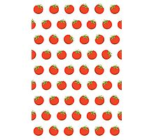 Sweet Red Tomato Picture Pattern Photographic Print