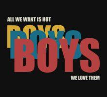 Boys Boys Boys by PopInvasion
