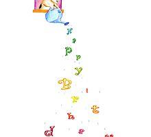 Drops of birthday by Elena Leong