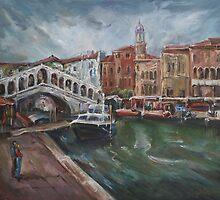 Canale Grande by Stefano Popovski