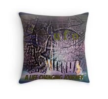 UFO a life changing journey Throw Pillow