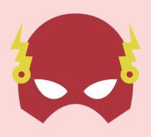 Super hero mask (Flash) One Piece - Short Sleeve