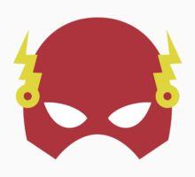 Super hero mask (Flash) Kids Tee