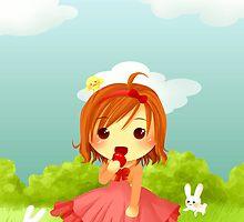 Chibi Cinderella by MizuuHime