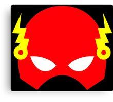 Super hero mask (Flash) Canvas Print