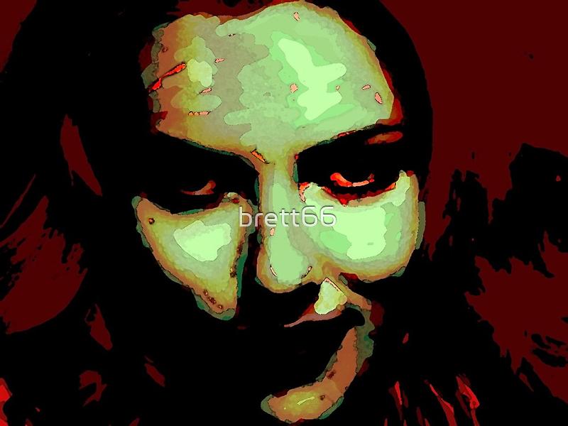 Zombie Girl ate my brains by brett66