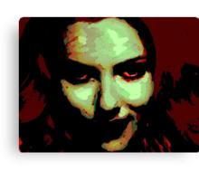 Zombie Girl ate my brains Canvas Print