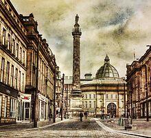 Textured Newcastle Upon Tyne by NortheastOne