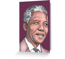 Mr Mandela Greeting Card