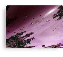 City After Rain (purple) Canvas Print