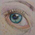 My Eye in Close Up by Kyleacharisse