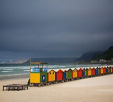 Muizenberg Beach by fernblacker