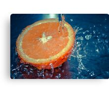 Juicy Splash Canvas Print