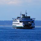 Ferry inbound from Bremerton by Tori Snow