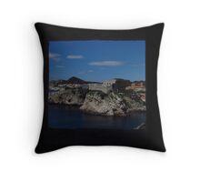 Tvrdava Bokar, Dubrovnik Throw Pillow