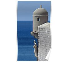Old Town Walls, Dubrovnik Poster