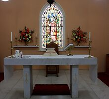 Alter, St James Anglican Church, Rylstone, NSW by Ian Ramsay