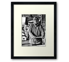 With purpose Framed Print