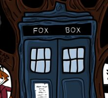 The Fantastic Doctor Nine (What Does the Ninth Say?) Sticker