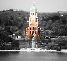 Netley Chapel ( Selective Colour ) by CHINOIMAGES