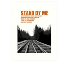 Stand By Me Movie Poster Art Print