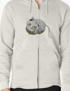 Al Cat Zipped Hoodie
