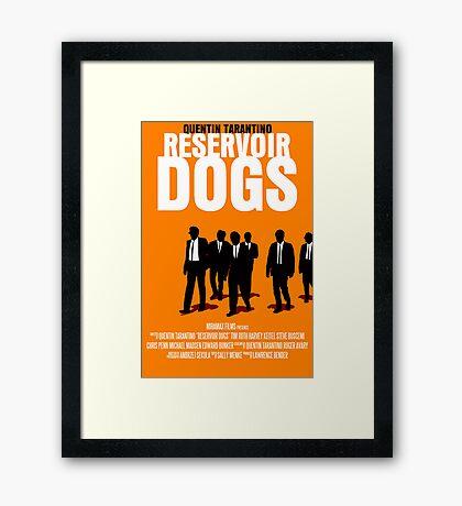 Reservoir Dogs Movie Poster Framed Print