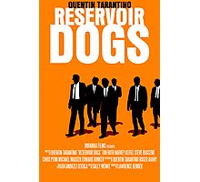 Reservoir Dogs Movie Poster Photographic Print