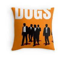 Reservoir Dogs Movie Poster Throw Pillow