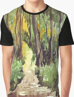 Forest path Graphic T-Shirt