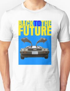 Back To The Future Movie Poster Unisex T-Shirt