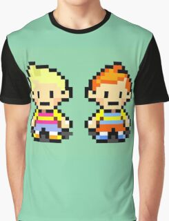 Lucas and Claus - Mother 3 Graphic T-Shirt
