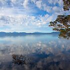 Reflections of Macquarie Harbour by Cameron B