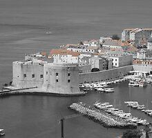 Fortress of St John, Dubrovnik by wiggyofipswich