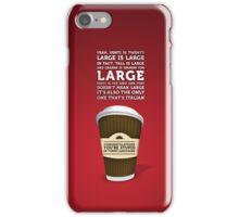 Coffee Speech iPhone Case/Skin