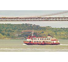 cacilheiro. lisbon Photographic Print
