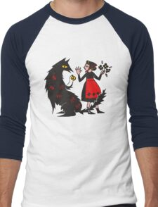 What's the time, Mr Wolf Men's Baseball ¾ T-Shirt