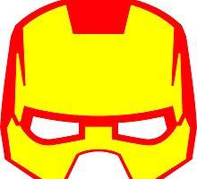 Super hero mask (Iron man) by chantelle bezant