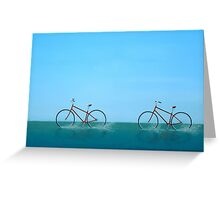 Crossing the Sound Greeting Card