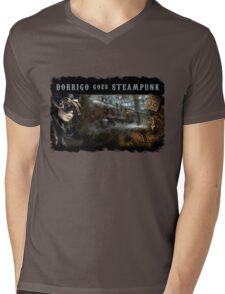 Dorrigo Goes Steampunk Mens V-Neck T-Shirt