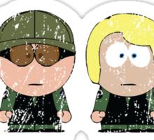SG1 Team (South Park) - Stargate Sticker
