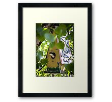 A Very New York Swallow Framed Print