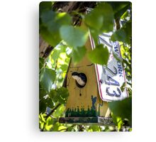 A Very New York Swallow Canvas Print