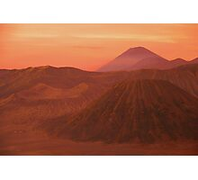 Gunung Bromo Photographic Print