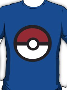 Large Pokeball Sticker. T-Shirt